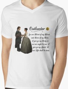 Outlander Wedding Vow Mens V-Neck T-Shirt