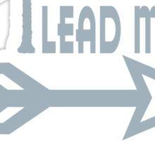Spirit Lead Me funny nerd geek geeky Sticker