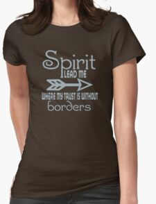 Spirit Lead Me funny nerd geek geeky Womens Fitted T-Shirt
