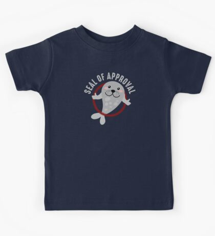 Seal of Approval T Shirt Kids Tee