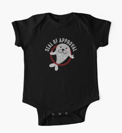 Seal of Approval T Shirt One Piece - Short Sleeve