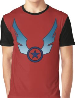 star wing insignia blue funny nerd geek geeky Graphic T-Shirt