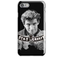 Norman Bates | Stay Creepy iPhone Case/Skin