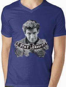 Norman Bates | Stay Creepy Mens V-Neck T-Shirt