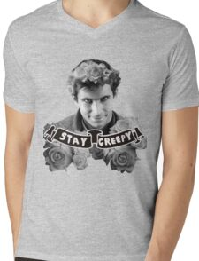 Norman Bates | Stay Creepy Mens V-Neck T-Shirt