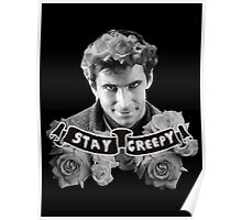 Norman Bates | Stay Creepy Poster