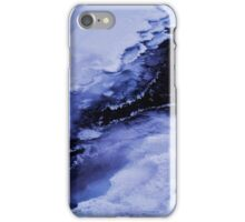 Winter waterfall iPhone Case/Skin