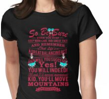 READ ACROSS AMERICA POEM Womens Fitted T-Shirt
