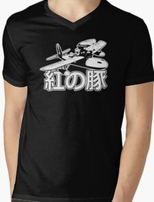 Porco Rosso Funny Men's Tshirt Mens V-Neck T-Shirt