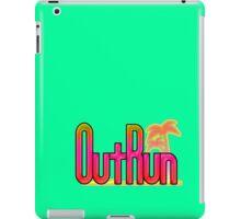 OutRun SEGA Arcade Vaporwave Logo iPad Case/Skin