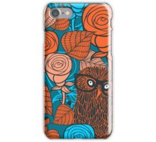 Autumn owls iPhone Case/Skin