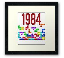 tetris 84 Framed Print