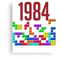 tetris 84 Canvas Print