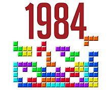 tetris 84 Photographic Print
