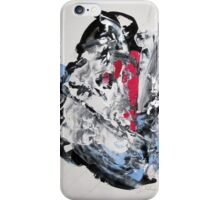 It's not worth crying over spilt milk - Original Wall Modern Abstract Art Painting iPhone Case/Skin