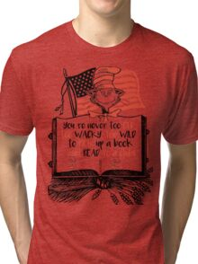Read Across America Edition Tri-blend T-Shirt