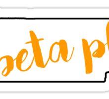 Tennessee Pi Beta Phi Sticker
