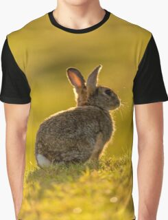 Cute Wildlife Golden Hour Graphic T-Shirt