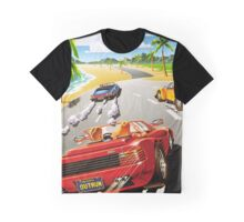 California OutRun SEGA utopian heaven arcade racer Graphic T-Shirt