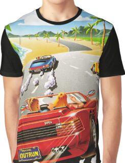 California OutRun SEGA utopian heaven arcade racer Graphic T-Shirt