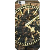 One Face of the Clock of Tarvin Church, Cheshire iPhone Case/Skin
