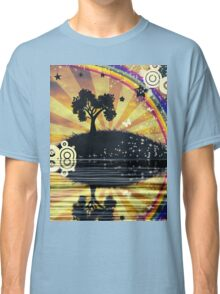 Lonely Tree at Sunset Classic T-Shirt