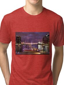 Melbourne Docklands Tri-blend T-Shirt