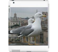 See gulls in Rome! iPad Case/Skin