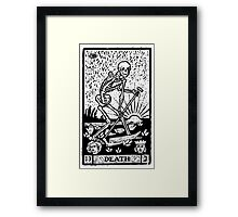 Tarot card - the death Framed Print