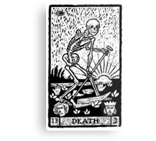 Tarot card - the death Metal Print