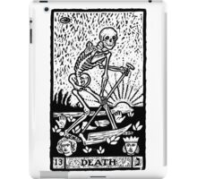 Tarot card - the death iPad Case/Skin