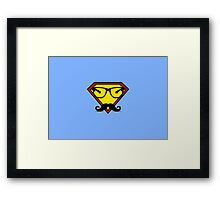 Super Hipster Framed Print