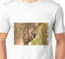 Great Spotted Woodpecker (Male)  Unisex T-Shirt