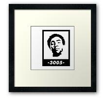 Childish Gambino   3005   ART  Framed Print