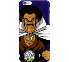Mr. satan - Misutā Satan iPhone Case/Skin
