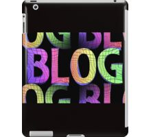 blog background iPad Case/Skin