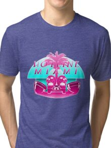 Hotline Miami Logo Tri-blend T-Shirt