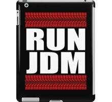 RUN JDM tread iPad Case/Skin