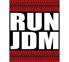 RUN JDM sticker Photographic Print