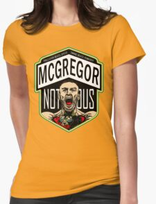 Conor Mcgregor Womens Fitted T-Shirt