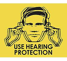 Use Hearing Protection (Factory)  Photographic Print