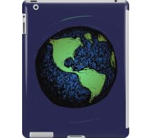 Sketched Earth iPad Case/Skin