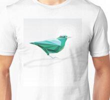 Turquoise Bird  Unisex T-Shirt