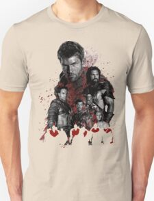 Spartacus and his rebel leaders Unisex T-Shirt