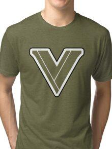 Street Fighter V Logo Tri-blend T-Shirt