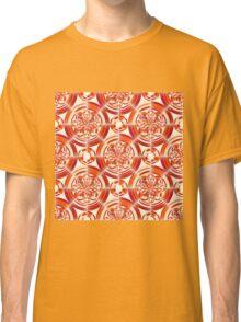 Dark orange pattern Classic T-Shirt