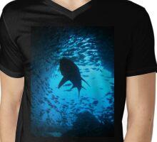 Grey Nurse Shark, South West Rocks, Australia Mens V-Neck T-Shirt