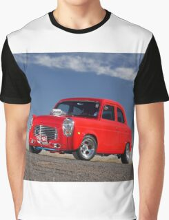 Red 1955 Ford Prefect Graphic T-Shirt