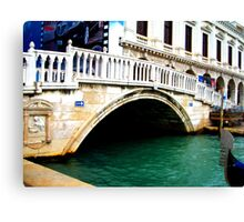 Beautiful venice cityscape. Canvas Print
