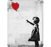 Little Girl with Balloon iPad Case/Skin